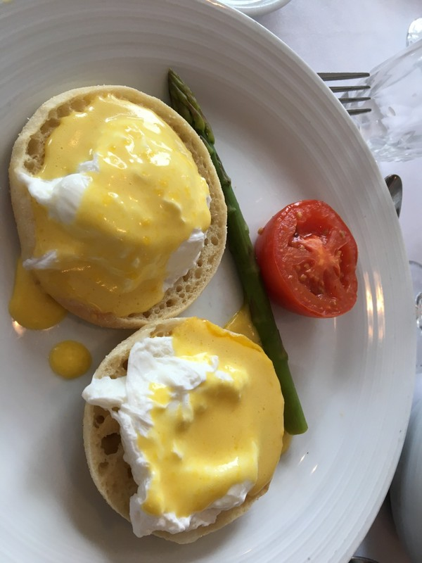 Eggs Benedict without the ham