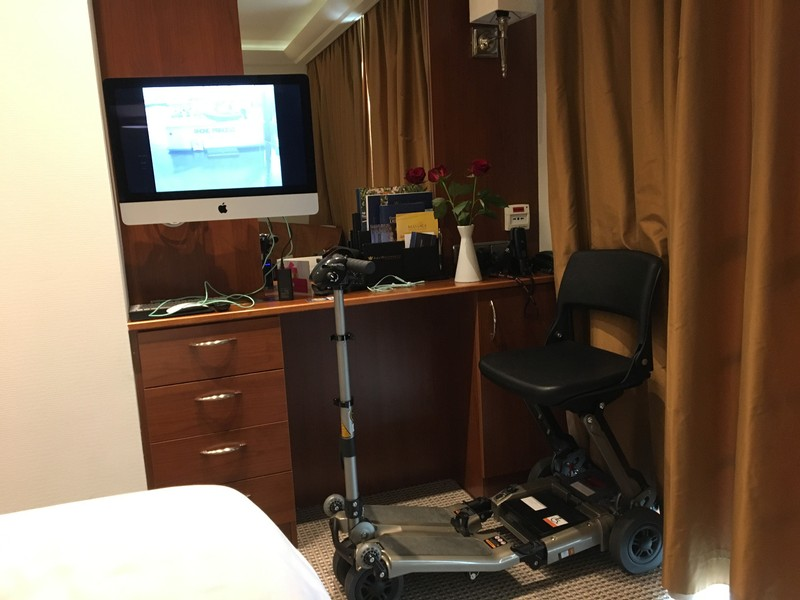 Scooter in the room