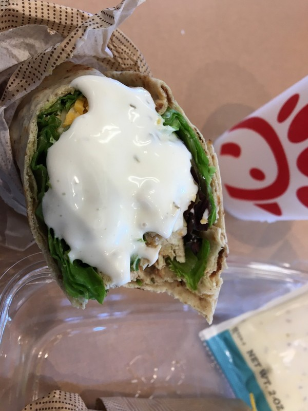 Grilled Chicken Cool Wrap$5.19