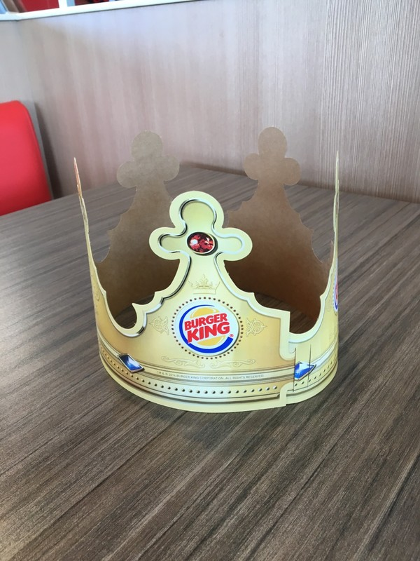Crown on the table