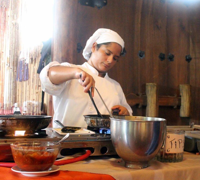Omelet chef