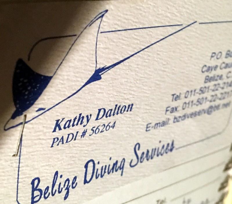 Kathy's card