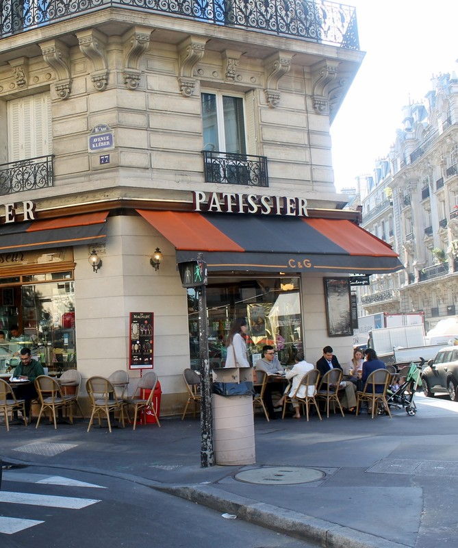 Patissier as we started on our tour