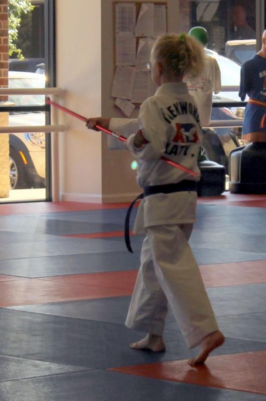Eskrima Stick practice