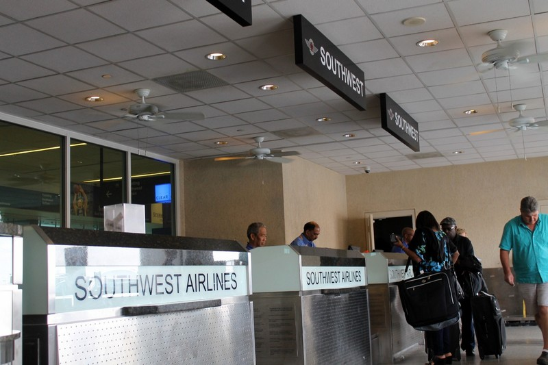 Southwest ticket counter