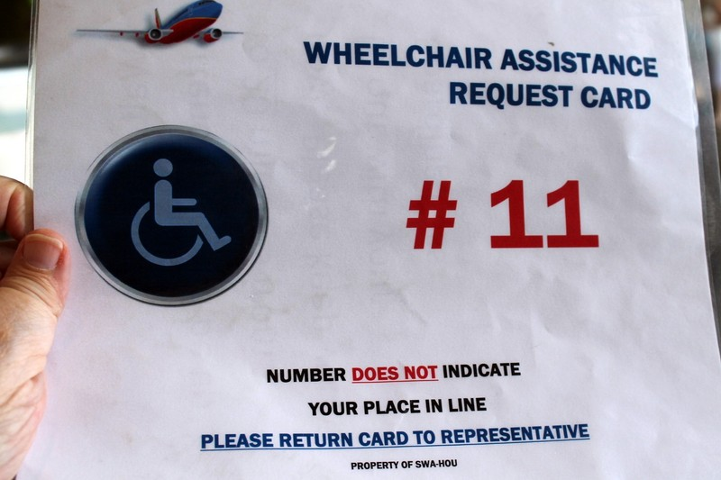 Our wheelchair number