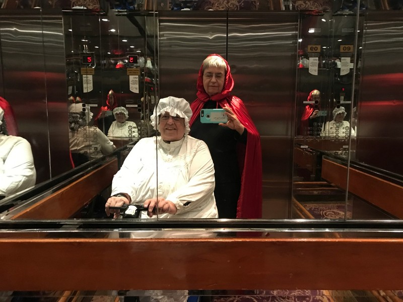 Red Riding Hood and Grandma