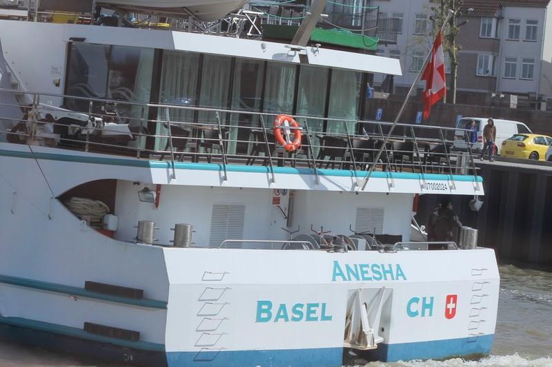 Stern of a Swiss river boat
