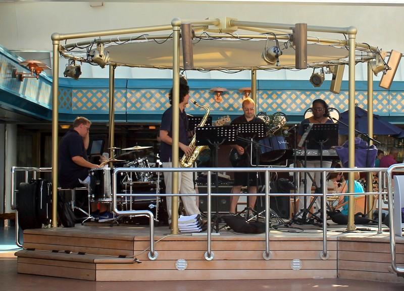 Band at the pool