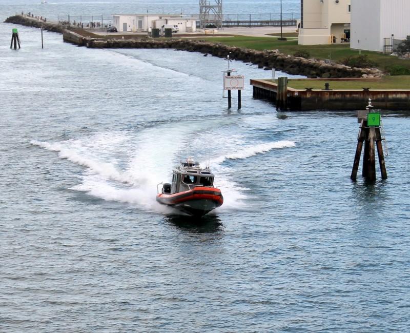 Coast Guard running hot
