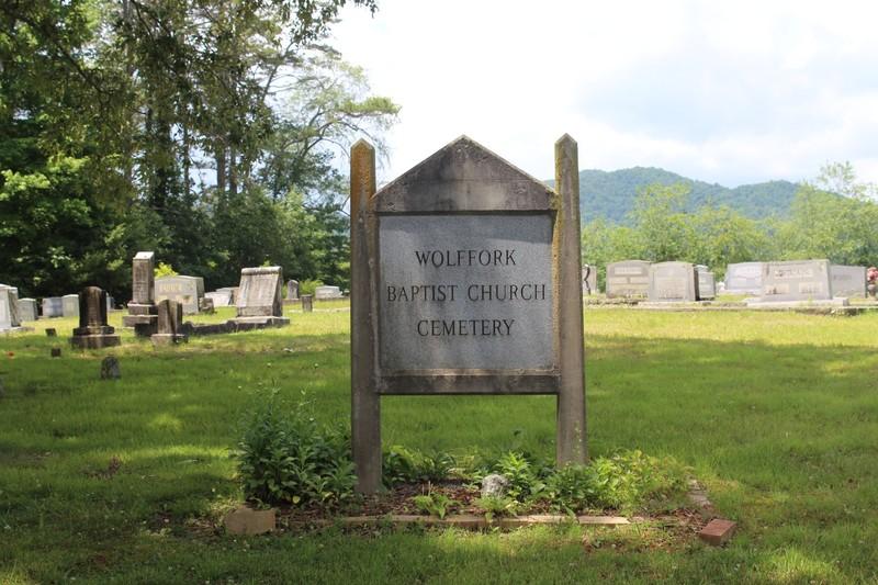 Wolffork Baptist Church Cemetery.
