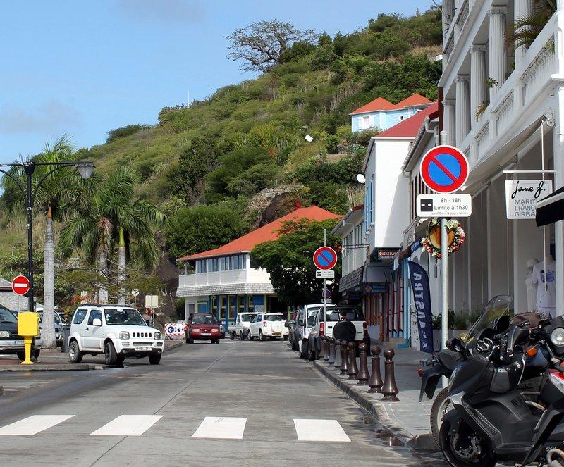 Streets in Gustavia