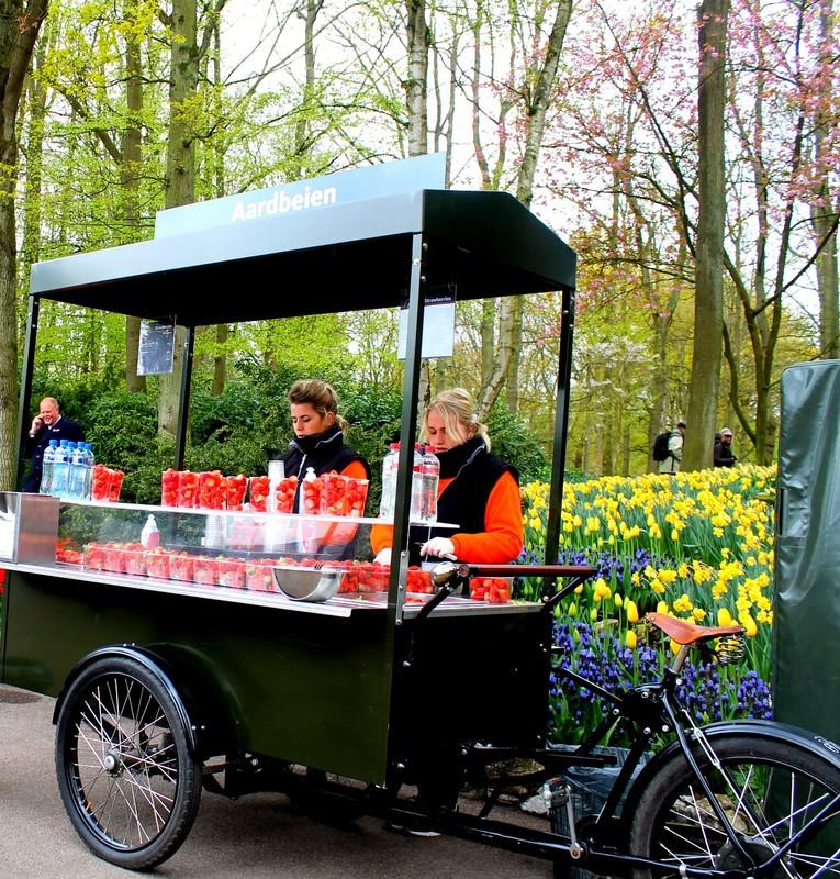 Strawberry cart