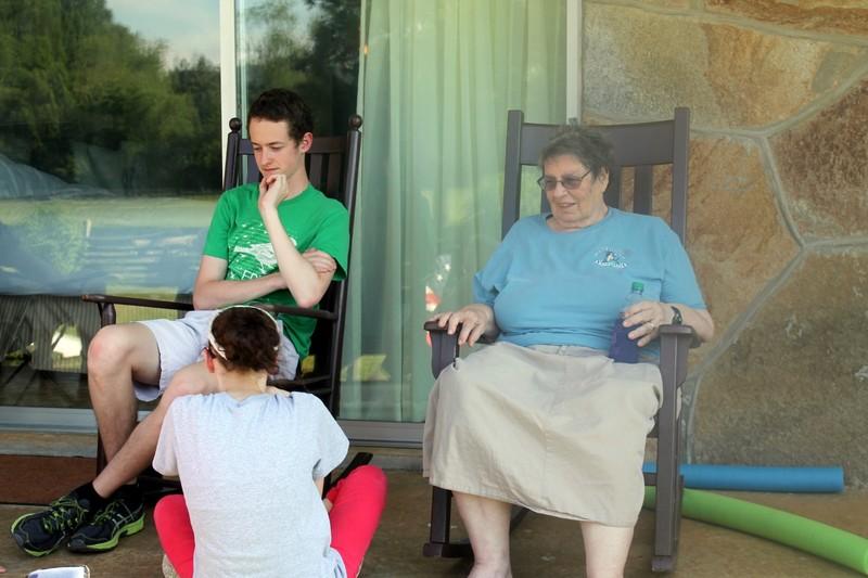 Texas grandchildren and me