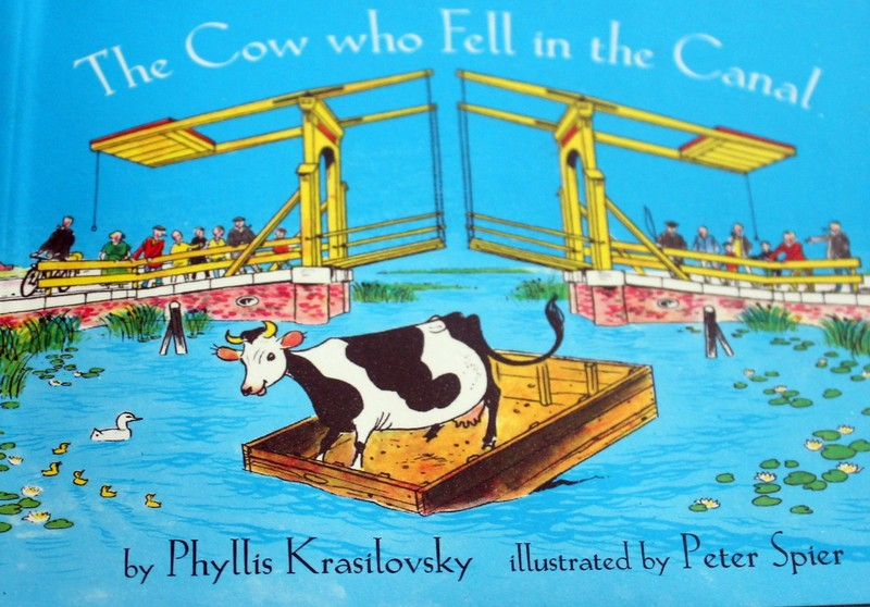 The Cow who Fell in the Canal book