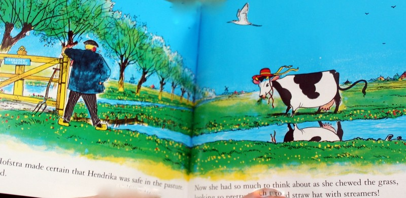 Page in the Cow Who Fell in the Canal book