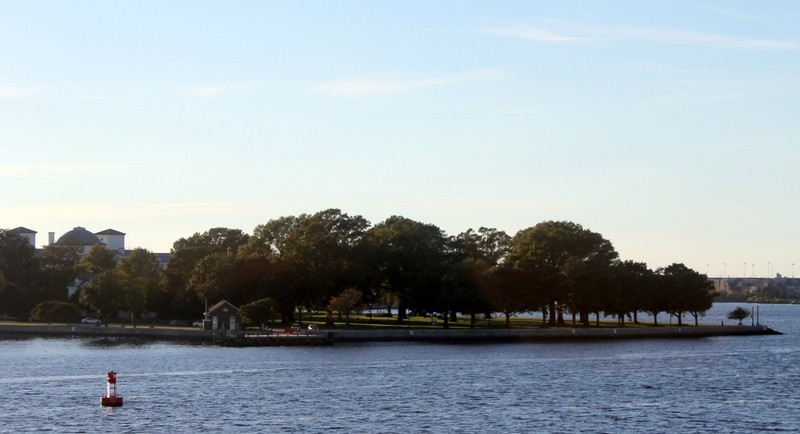 Hospital Point (Mile Marker 0 for the ICW