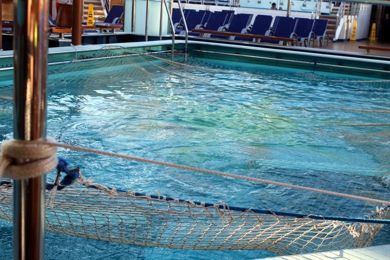 Pool before breakfast