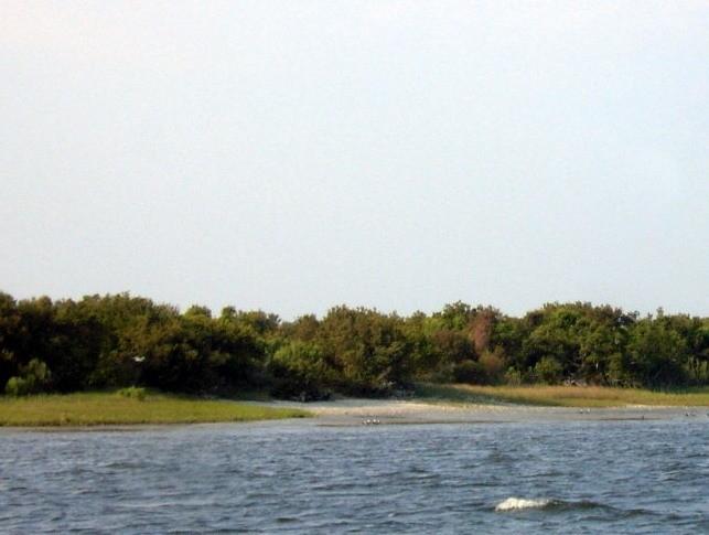 Atlantic side of Bogue Sound