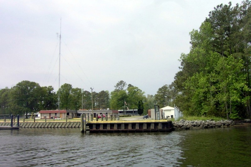 Passing the Coast Guard station
