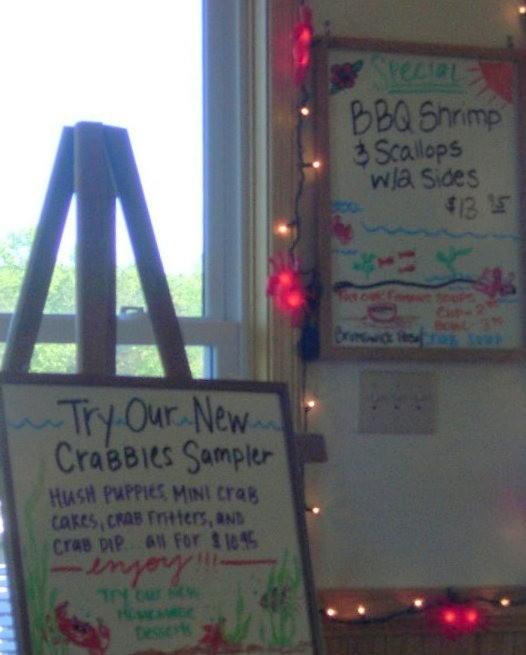 Specials at Crabbies