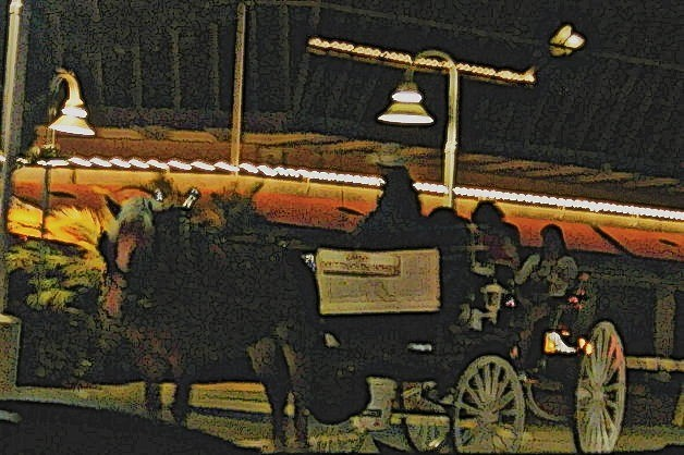 Pony Ride at night