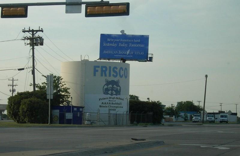 Frisco water tank