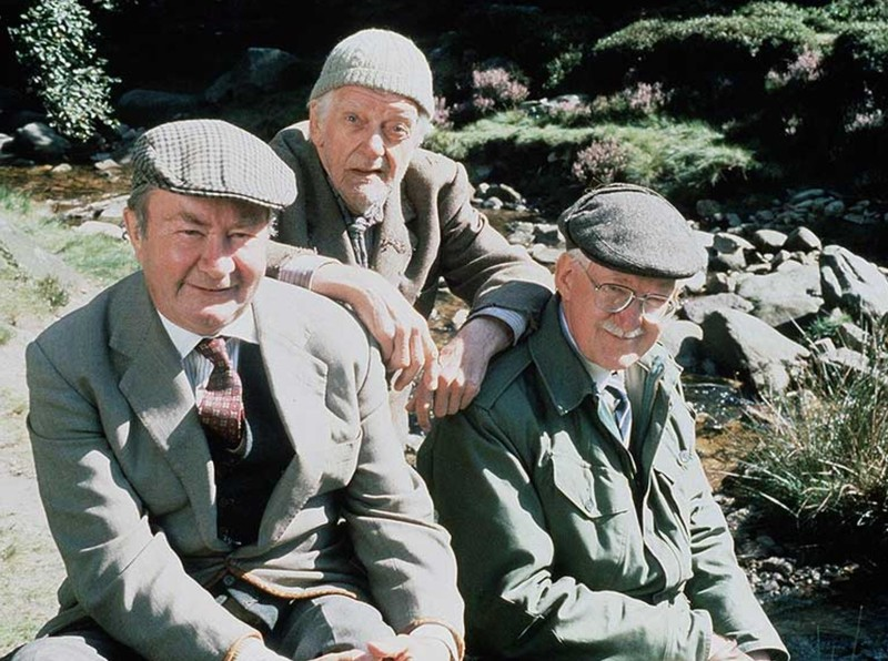 Cleggy, Compo and Foggy of Last of the Summer Wine