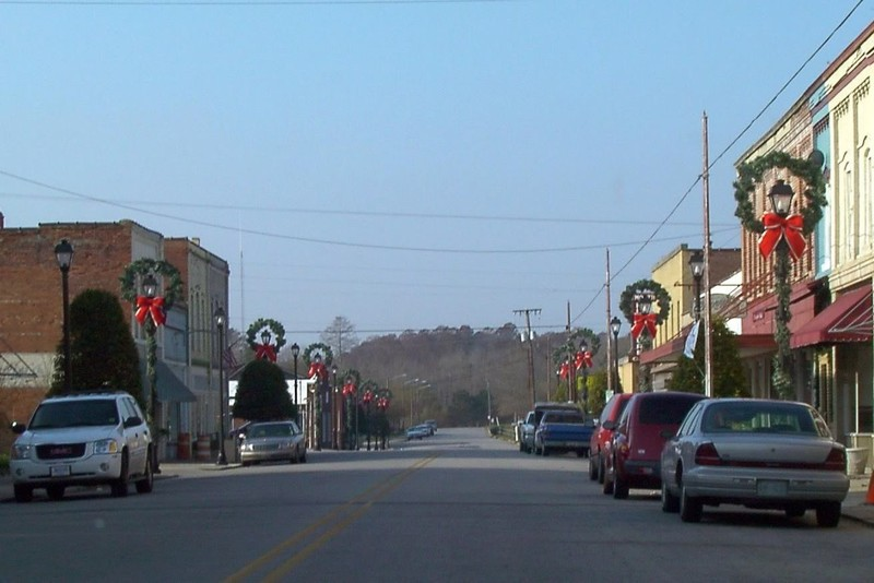 Main street of Plymouth