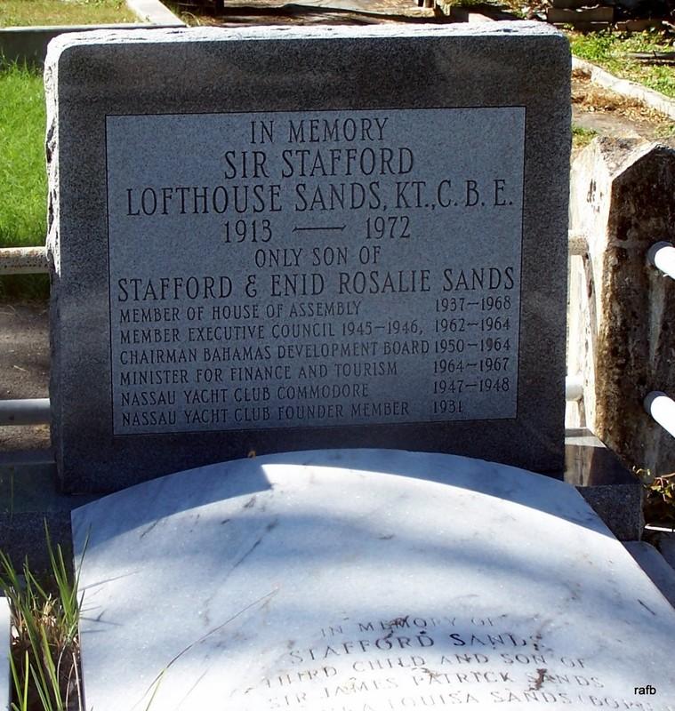 Sir Stafford Sands