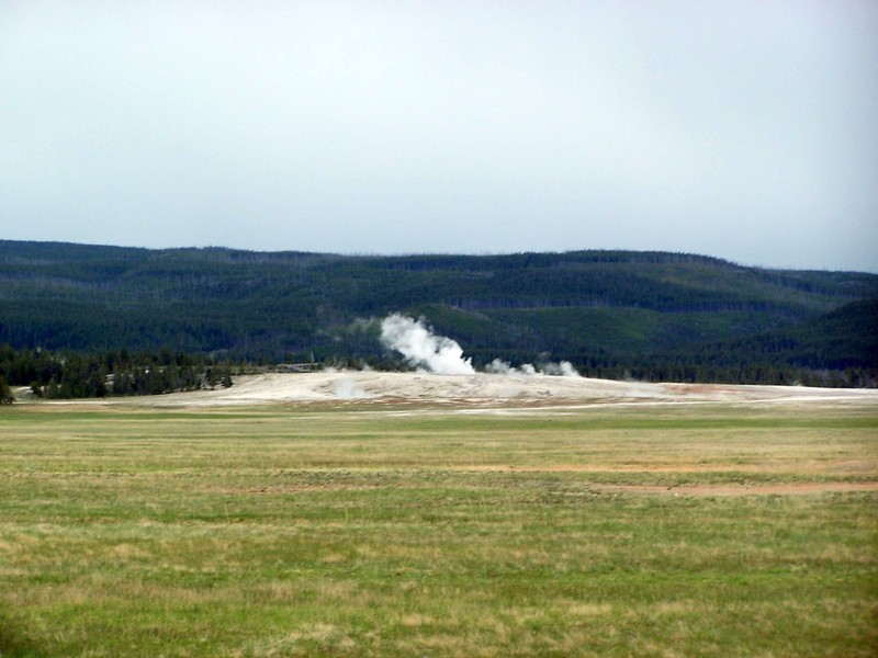 First geyser view