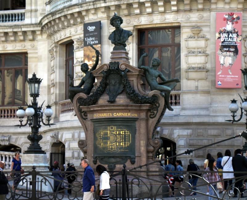 Emperor's entrance to the Garnier Opera House