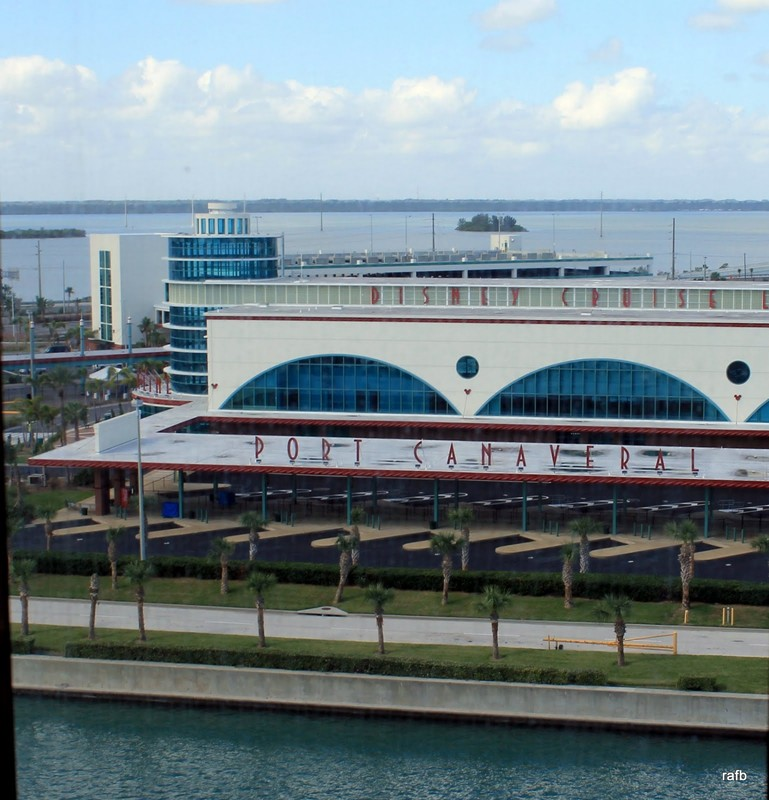 Port Canaveral (the other side where we docked before)