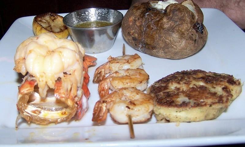 Bob's seafood trio
