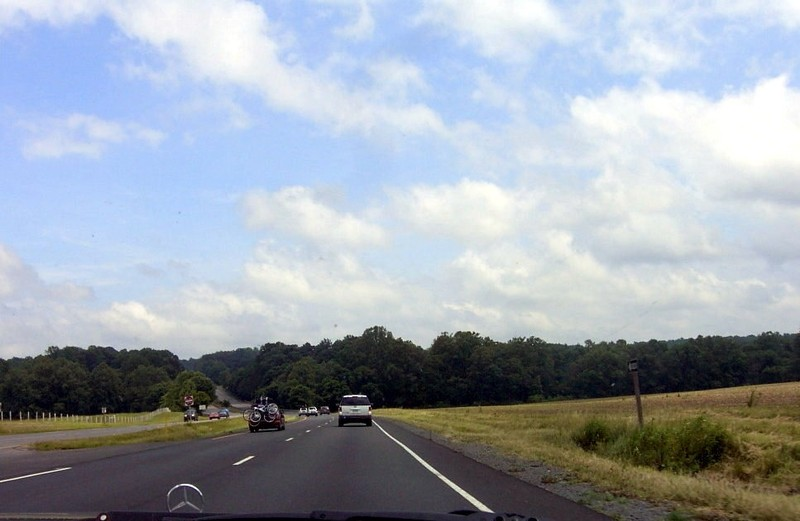 Virginia Route 3 south of Fredericksburg