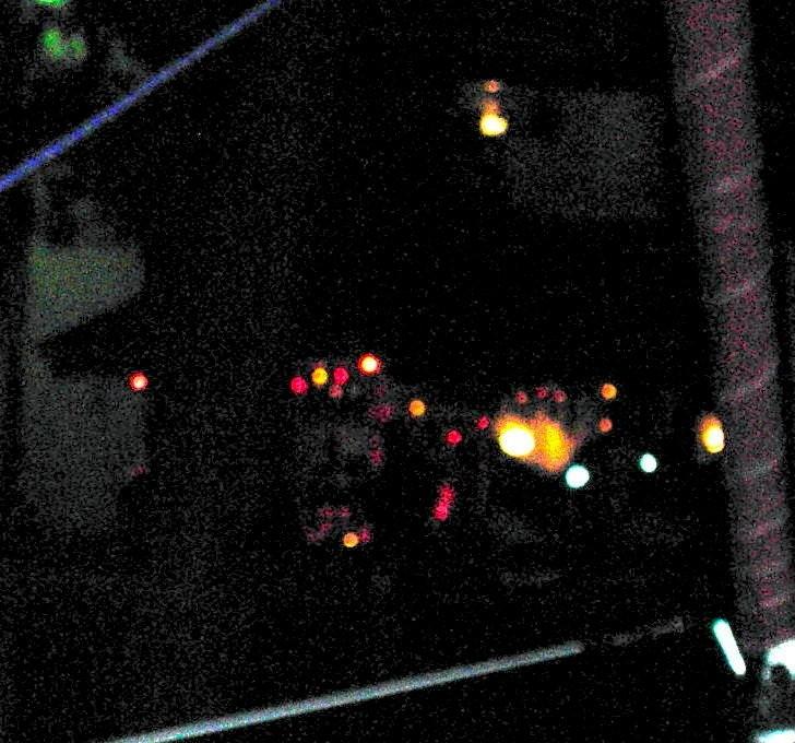 Tiki Bar at night