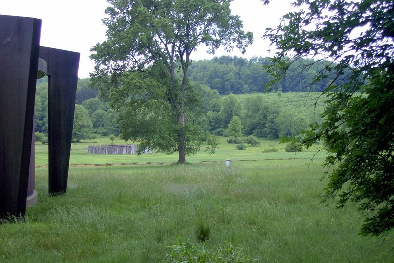 Fort Necessity from beside the Visitor's Center