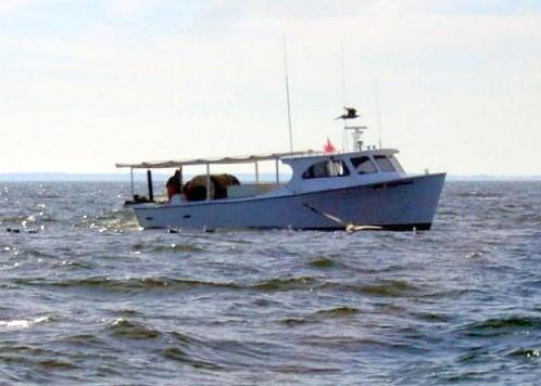 Small menhaden boat