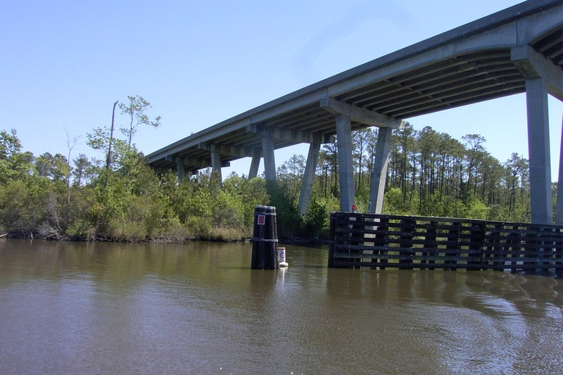 Looking back at the Fixed bridge