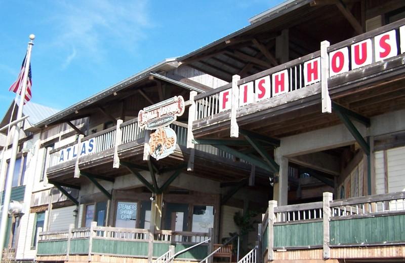 Atlas Oyster and Fish House facade
