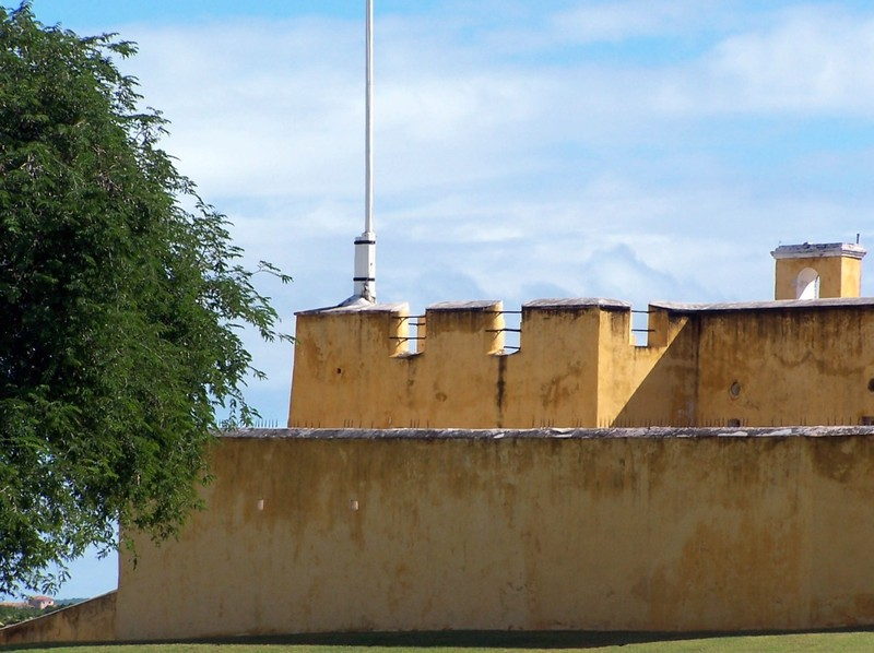 Fort ramparts