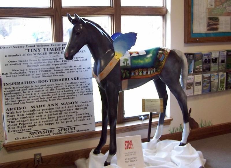 Visitor's Center colt