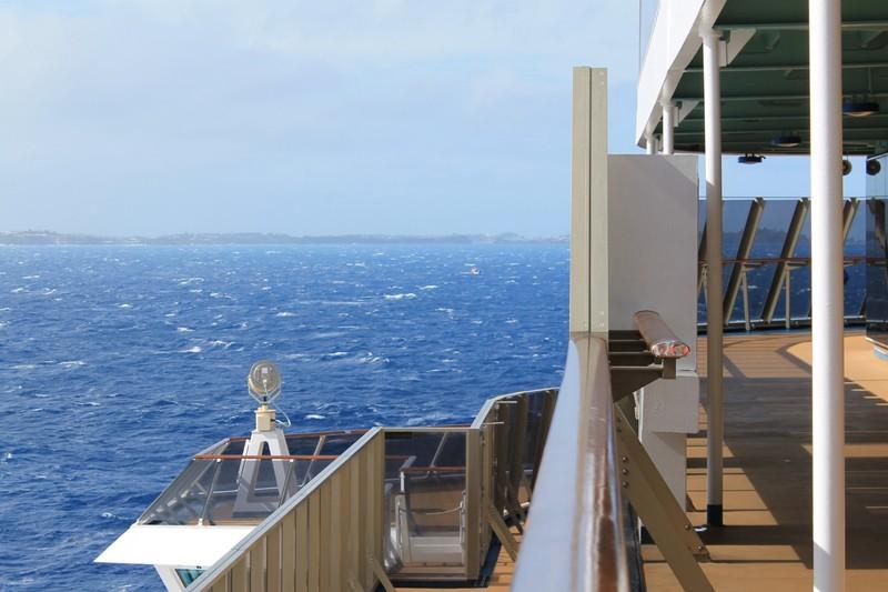 Approaching Bermuda