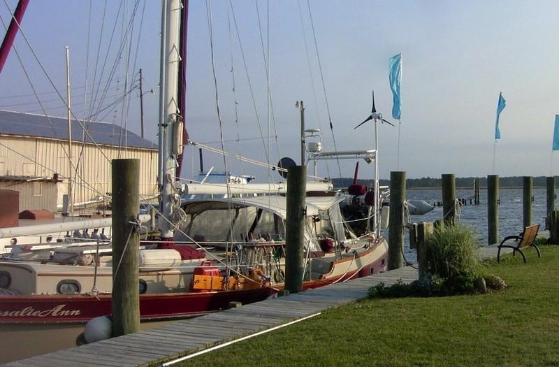 RosalieAnn at Belhaven Waterway Marina