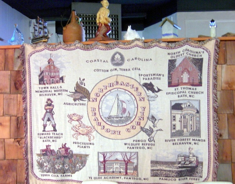 Coverlet with Belhaven history