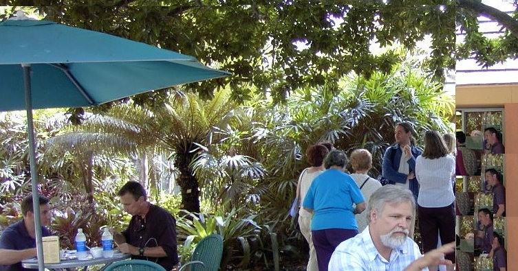 Garden Cafe where we had lunch