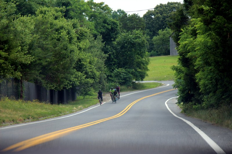 Oxon Hill 100 bike riders