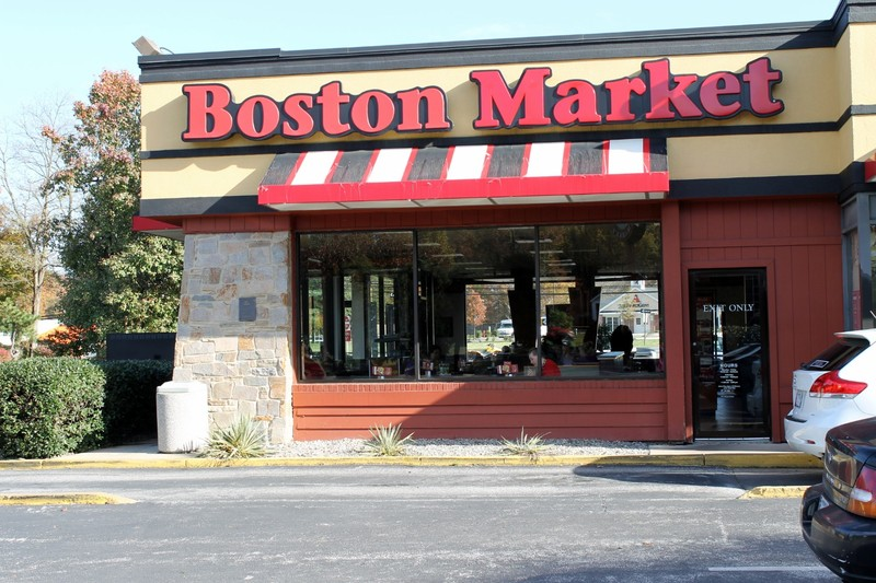 The only Boston Market I know with a drive thru - used to be a Roy Rogers