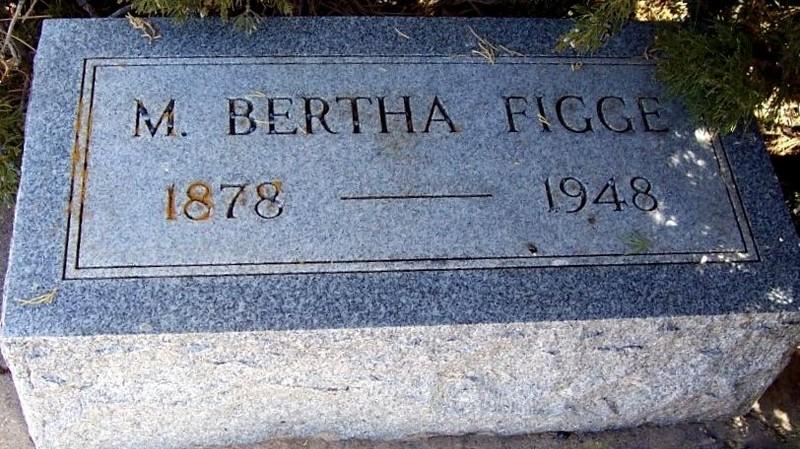 Grave (Bertha was a nickname)