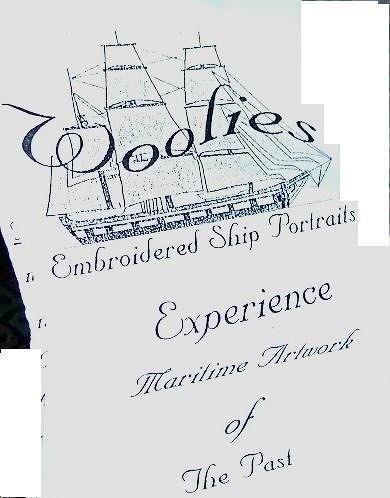 Front of the Woolie's exhibit brochure